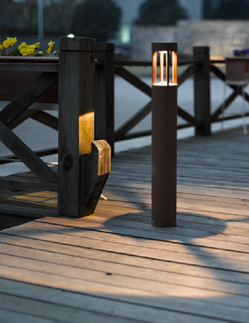 چراغ پایه بلند LED,COB بیرونی کد H111