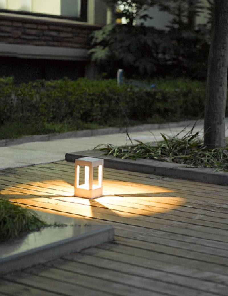 چراغ پایه بلند LED,COB بیرونی کد H112