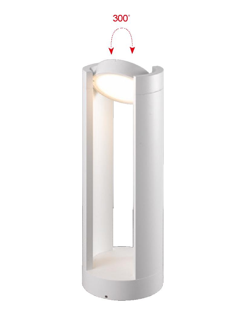 چراغ پایه بلند LED,SMD بیرونی کد H133