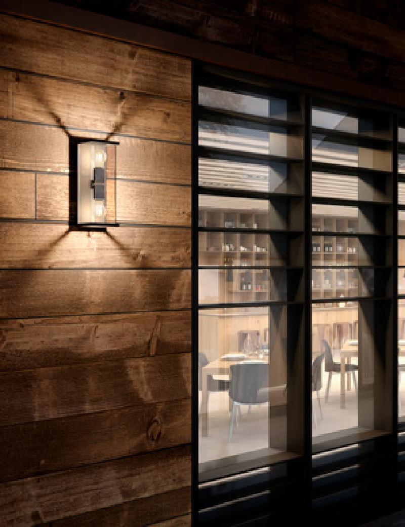 چراغ دیواری E27 بیرونی, داخلی کد H141