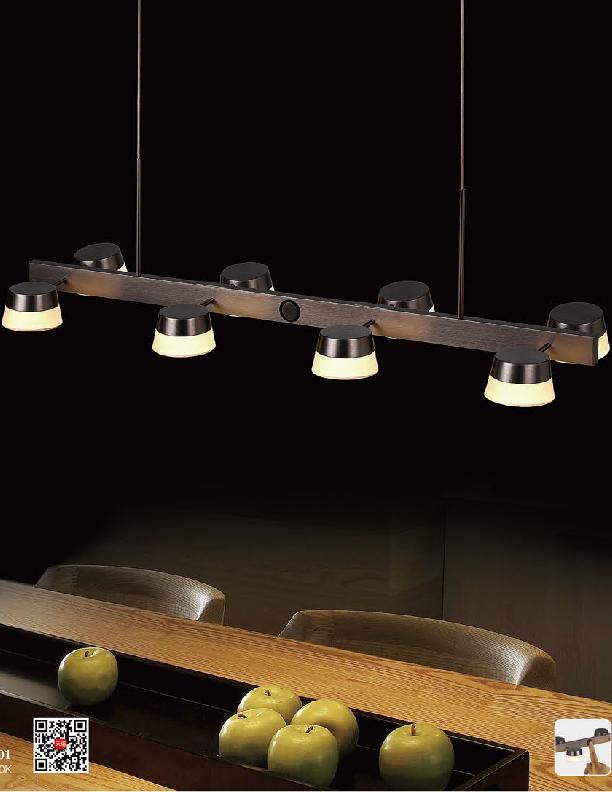 نورپردازی صنعتی با چراغ آویز نوران
