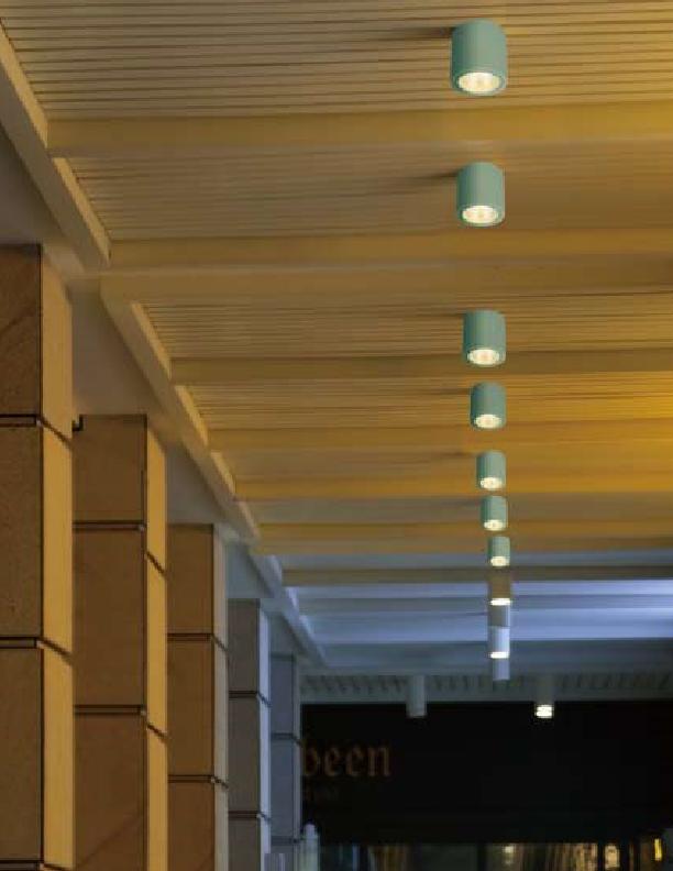 چراغ سقفی LED,COB داخلی کد D411/25W/BLK