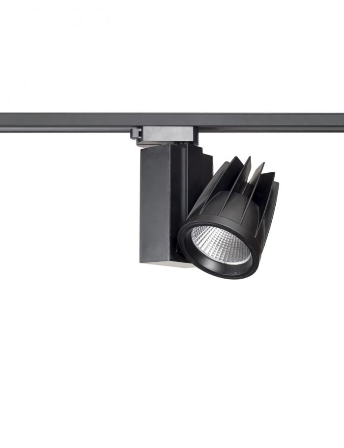 چراغ سقفی LED,COB داخلی کد B411/40W/BLK