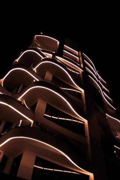پروژه نورپردازی برج مریم- نوران