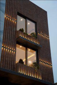 نورپردازی نما در پروژه سرداب