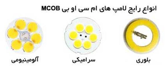انواع لامپ MCOB