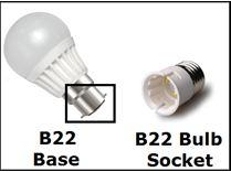 سرپیچ B22