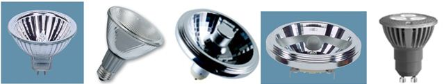 لامپ های رفلکتوری