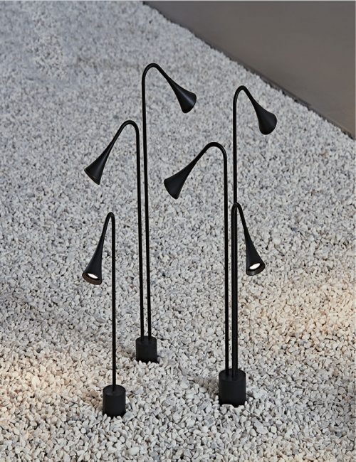 چراغ پایه کوتاه LED
