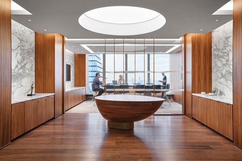 طراحی نورپردازی دفترکار