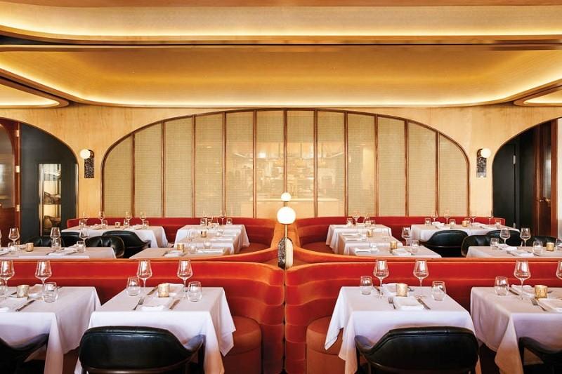 طراحی نورپردازی رستوران