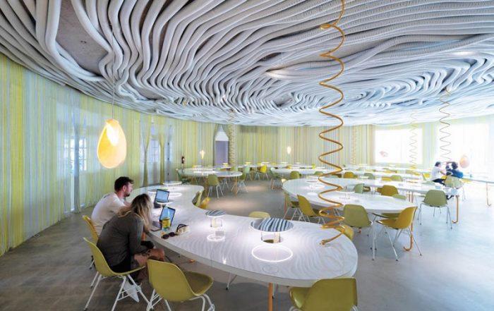 طراحی نورپردازی محل کار