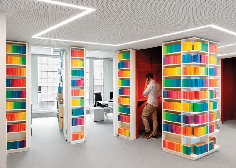 طراحی نورپردازی انتشارات