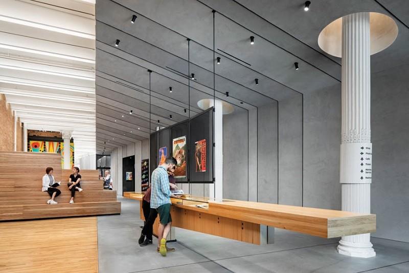 طراحی نورپردازی گالری