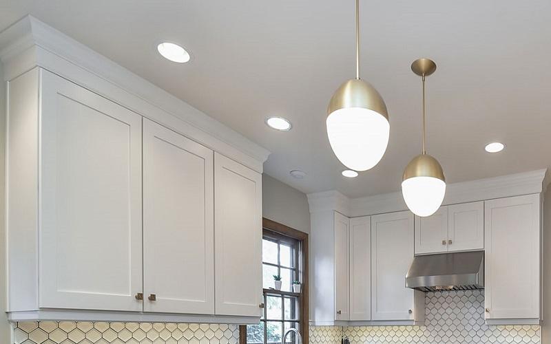 طراحی نورپردازی داخلی در سال 2020 با نور طلایی نرم