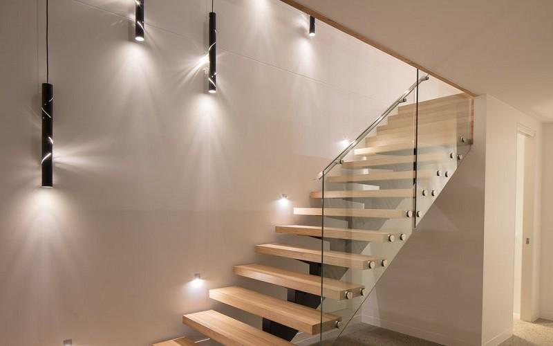 نورپردازی راه پله ها